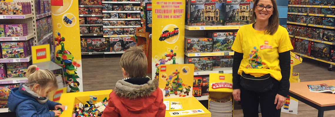 animations commerciales en magasin